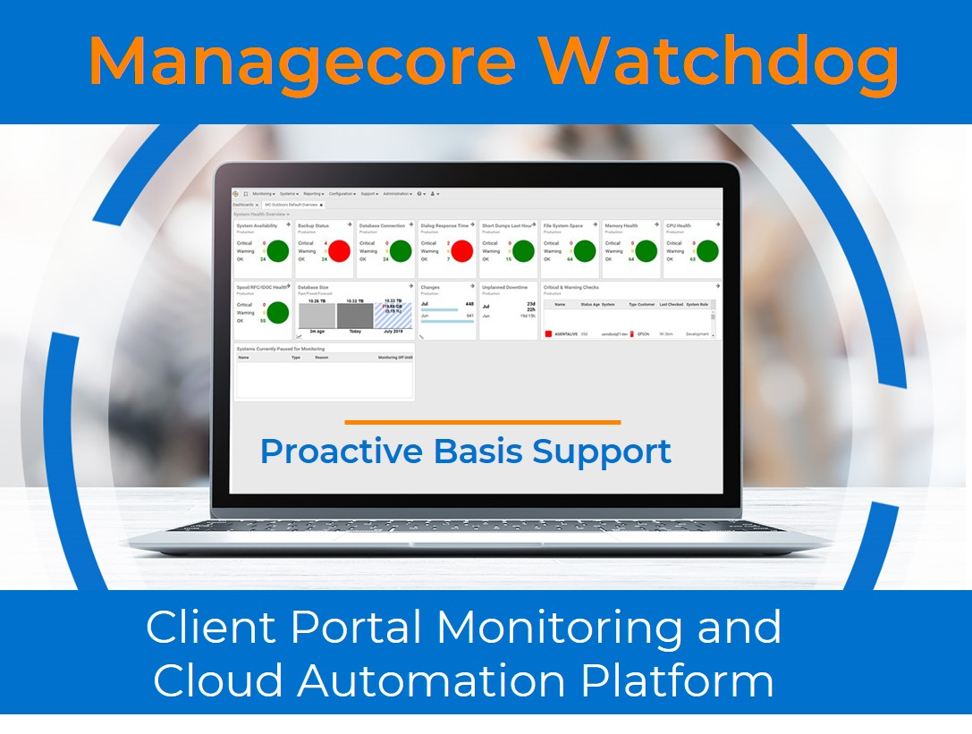 Managecore Watchdog - SAP Basis Monitoring