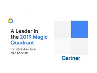 Google Cloud Named a Leader in Gartner Cloud IaaS Magic Quadrant