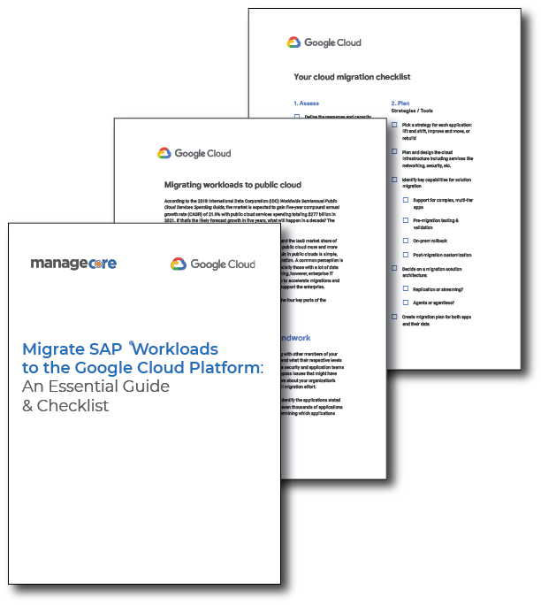 Migrate SAP Workloads to the Google Cloud Platform: An Essential Guide and 4 Step Checklist