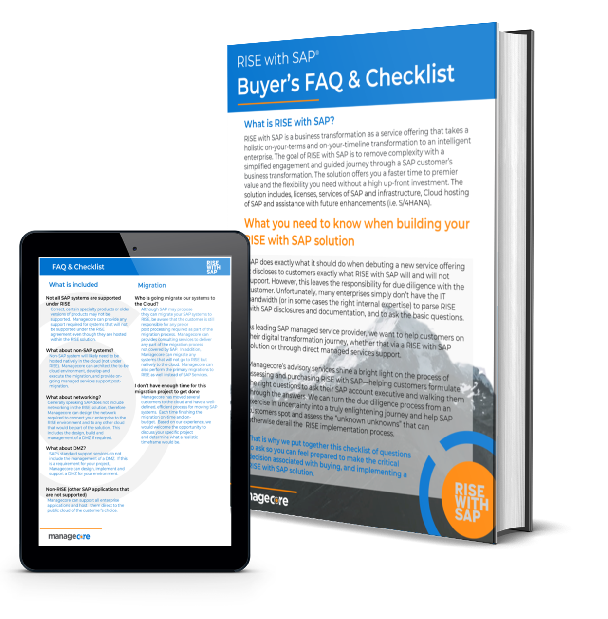 RISE with SAP: Buyer's FAQ & Checklist